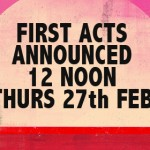 First acts announced Flash home