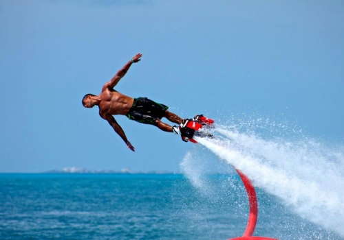 20:45 Friday 14th – Flyboard Show