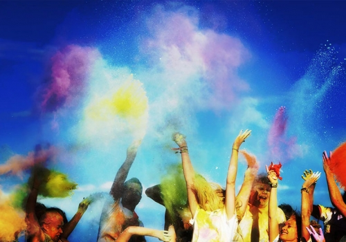 16:30 Sat 15th – Paint Fight